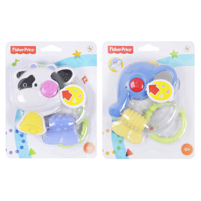 Fisher Price Link A Doos Musical Friend Teether Baby Toy Age 0m+
