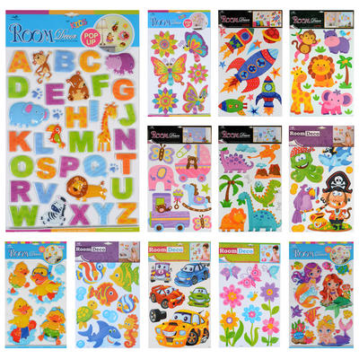 Removable Easy Peel Wall Bedroom Kids Room Stickers