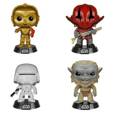 Funko POP Collectible Action Figures Vinyl Star Wars Toy Age 3+