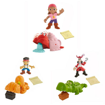 Fisher-Price Jake And The Never Land Pirates Treasure Snatcher Set