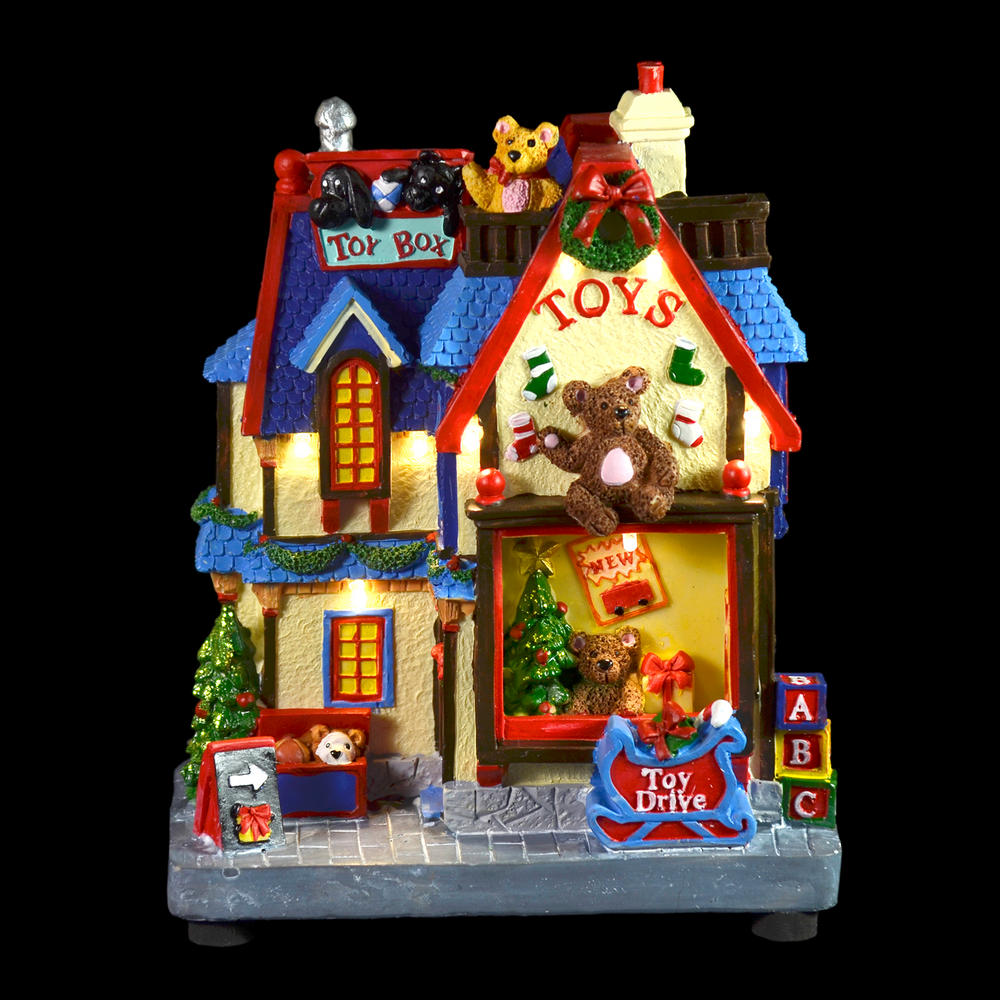 Christmas Lights Shop In Adelaide: Resin Christmas Toy Shop Light Up Decoration Ornament LED