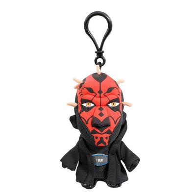 Darth Maul Star Wars Mini Talking Plush Keyring Toy