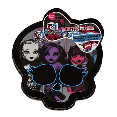 Monster High Skullette Beauty Makeup Tin Canister  Beauty Set