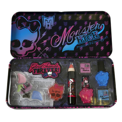 Monster High Ghoulfriends Forever Beauty Tin Makeup Set