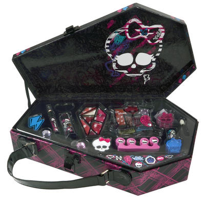 Monster High Killer Style Coffin Case Beauty Makeup Set