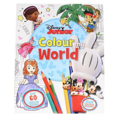 Colour my World Disney Activity Book Puzzles Activities