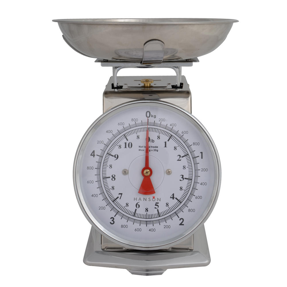 Hanson tradition 500 mechanical kitchen scale with manual for Traditional kitchen scales