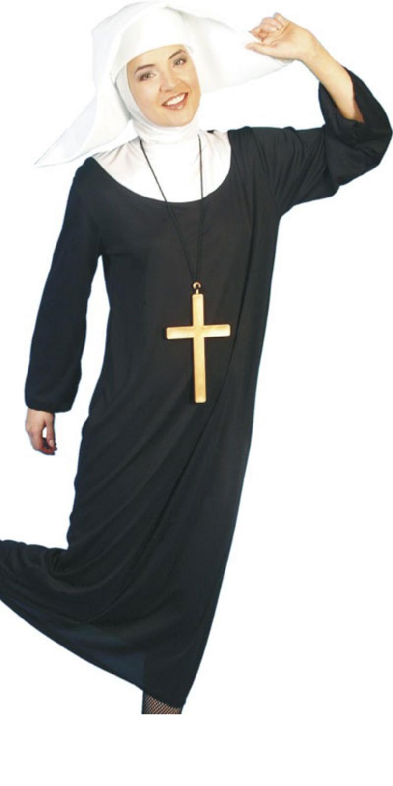 Saints Sinners Sound of Music Nun Fancy Dress Costume