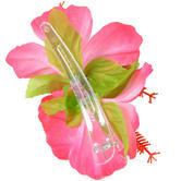 Hawaiian Hula Luau Theme Fancy Dress Accessory Hibiscus Flower Hair Clip Thumbnail 3