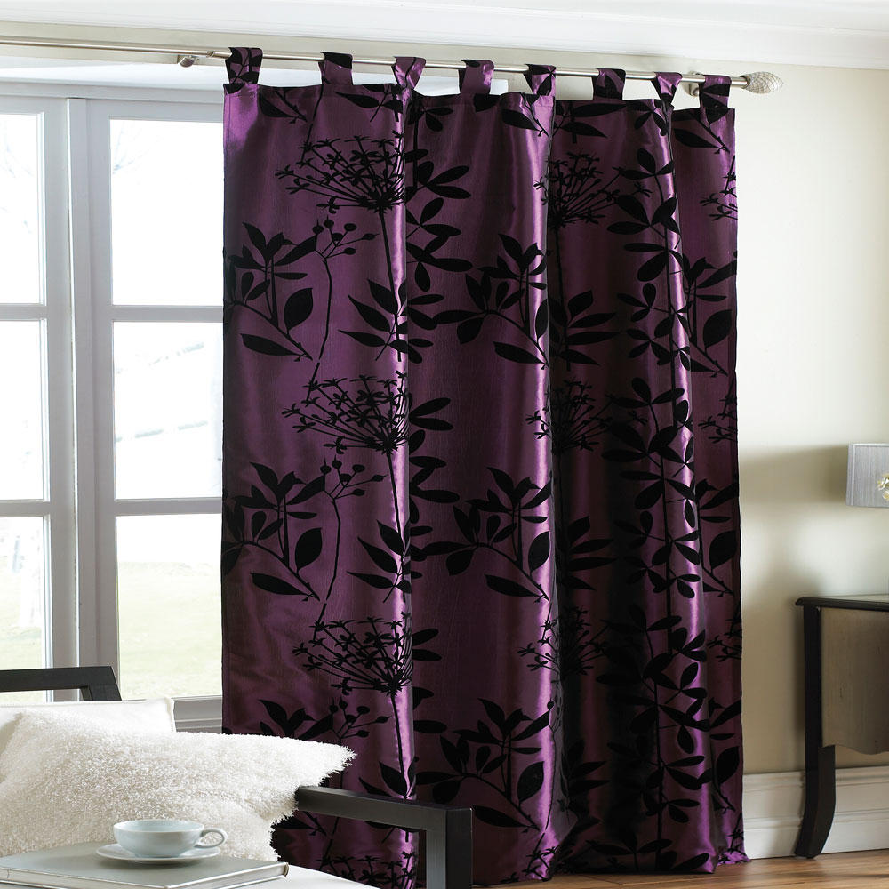 Plum curtains - Plum Curtain Panels