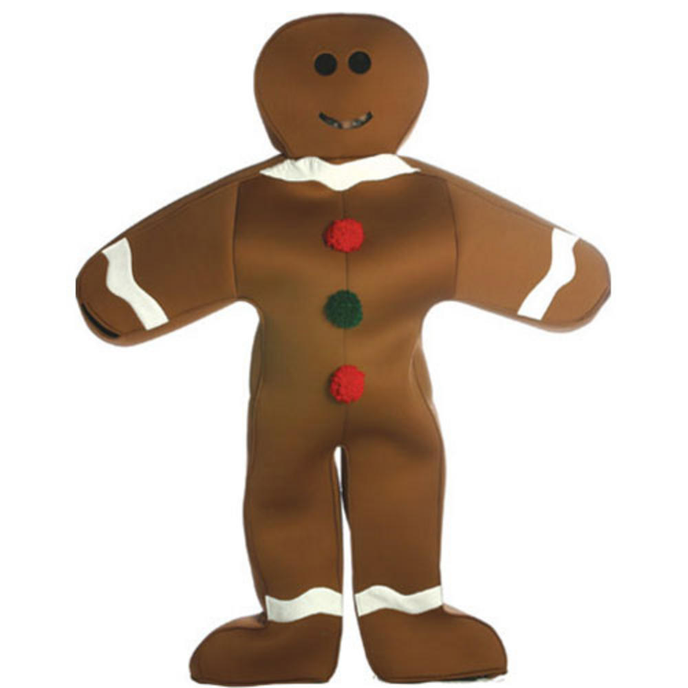 New Rasta Imposta Giant Gingerbread Man Funny Fancy Dress Halloween ...