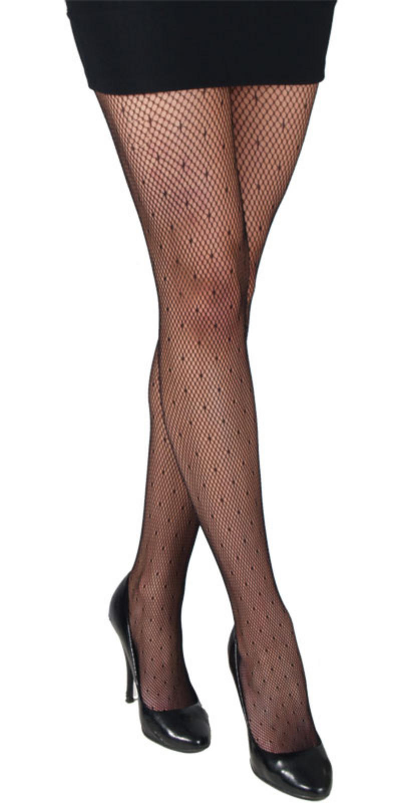 Black fishnet patterned fashion tights lingerie new for Fish net tights
