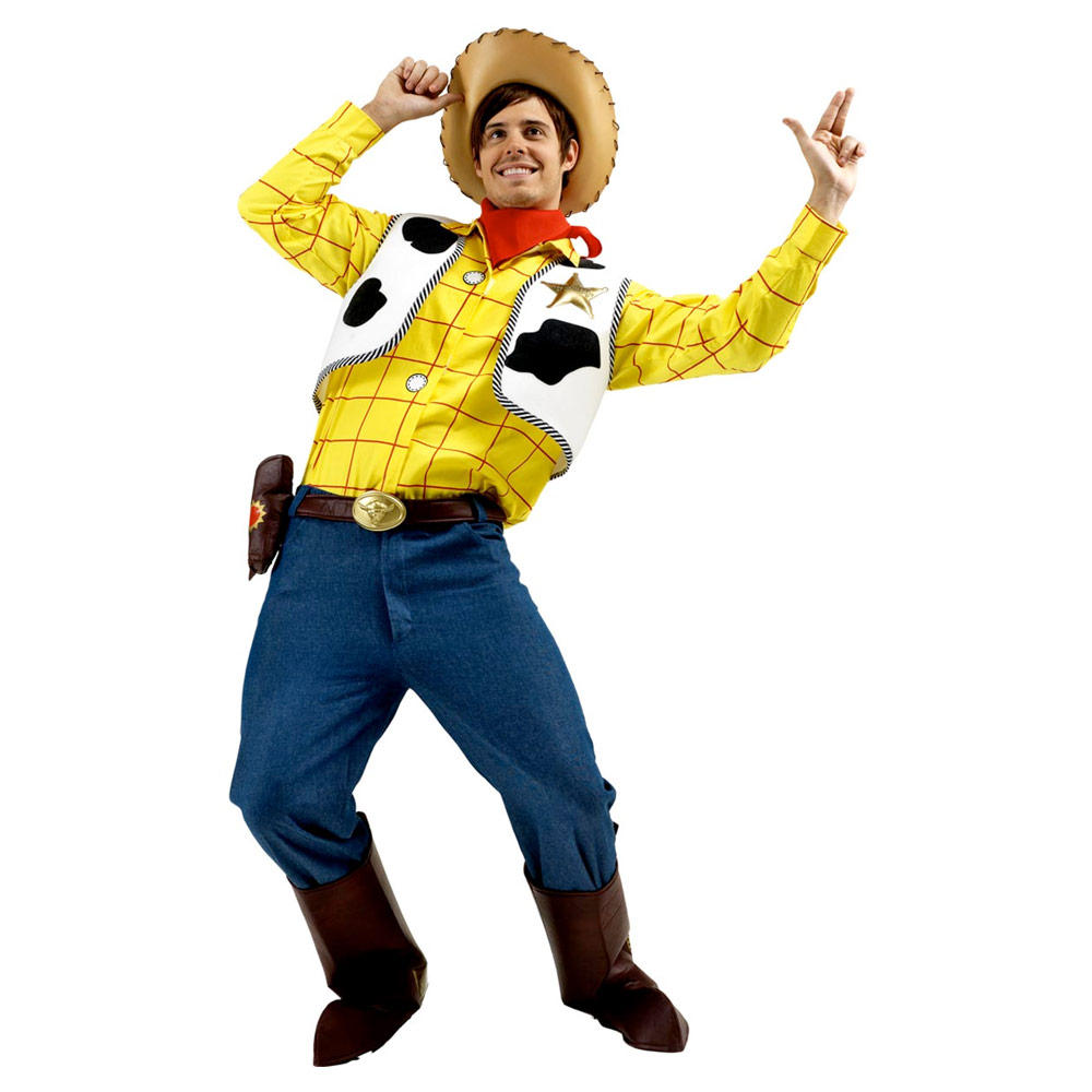 Toy Story Woody Adult Size Fancy Dress Halloween Party Costume Preview