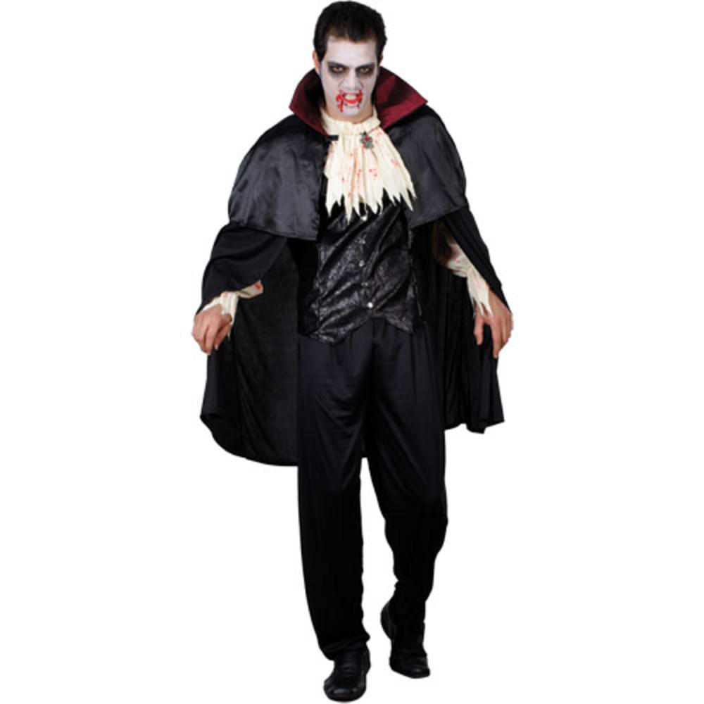 count dracula mens fancy dress halloween horror costume. Black Bedroom Furniture Sets. Home Design Ideas