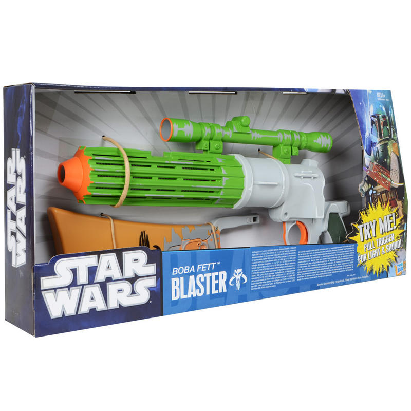 Star Wars Toy Guns : Star wars boba fett electronic blaster light up toy gun