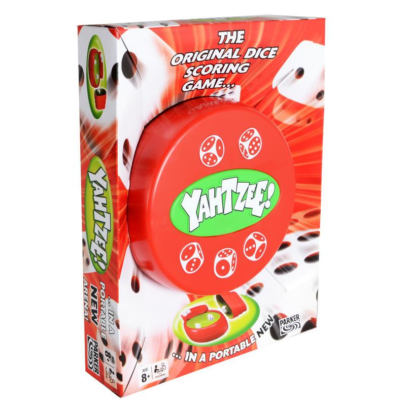 Original Hasbro Yahtzee Dice Scoring Poratble Travel Game