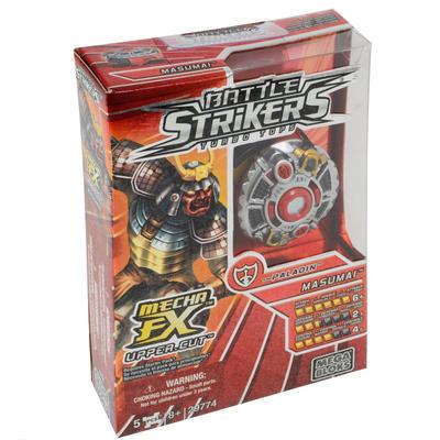 Mega Bloks Battle Strikers Turbo Tops FX masumai Team Paladin Boys Toy Battling Top