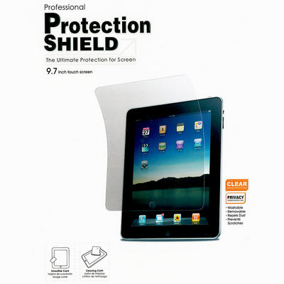 iPad Ultimate Professional Clear Screen Protection Shield Cover With Soft Cloth & Smoothie Card