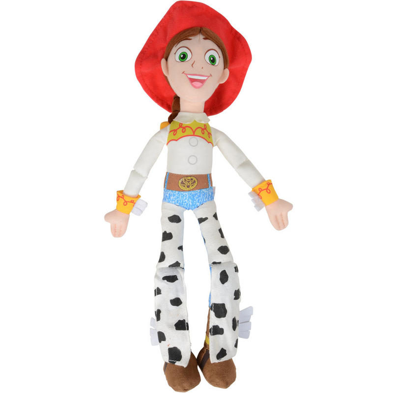 38cm/15u0026quot; Fabric Jessie Doll Toy Story Cowgirl Character Soft Toy Disney Pixar