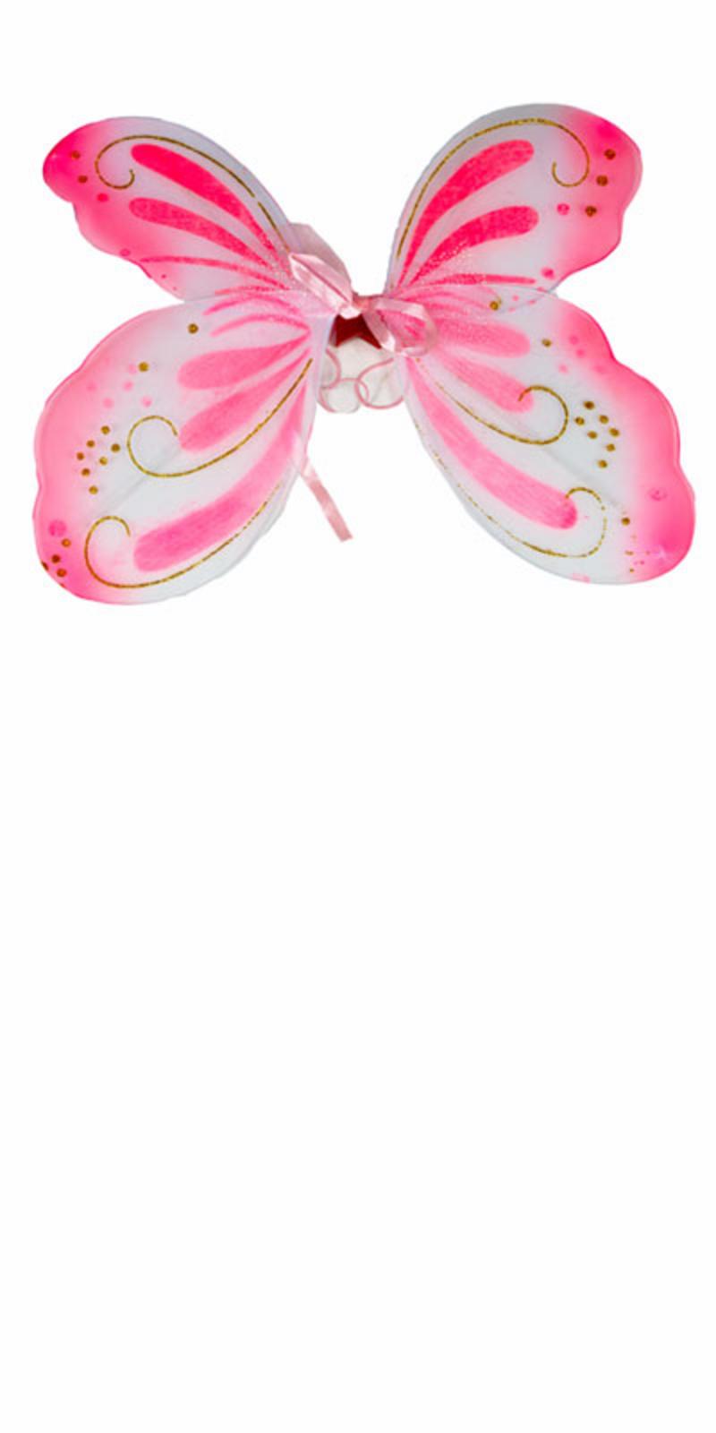 Case of 72 LED Flashing Light Up Fairy Wings Wholesale Job Lot
