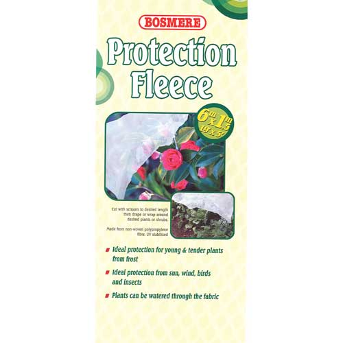 Bosmere Quality Landscape Plants Protection Fleece 6m x 1.5m N410 New