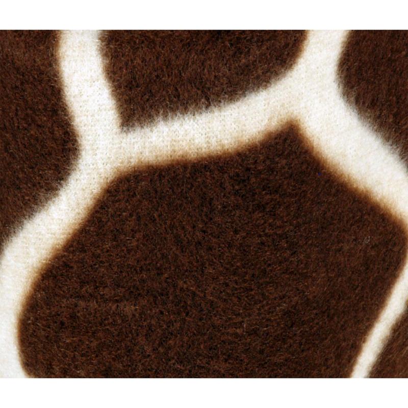 Spartan Fleece Saddle Cover Animal Print: Animal Print Fleece Giraffe Home Bed Sofa Blanket Throw