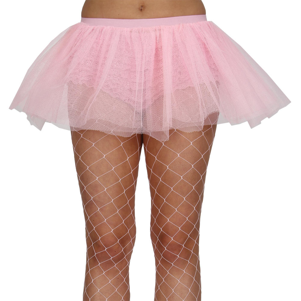 Ladies Baby Pink Tutu Petticoat Skirt Fancy Dress Party Accessory Preview