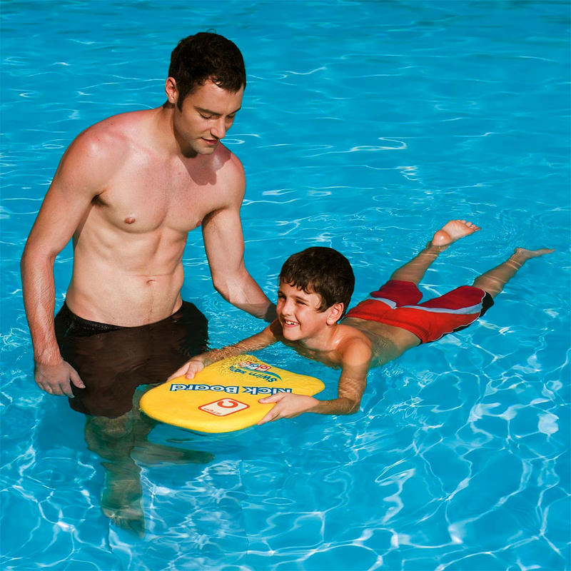 Kids Learn To Swim Pool Aid Foam Float Kick Board 43 X 30cm Age 4