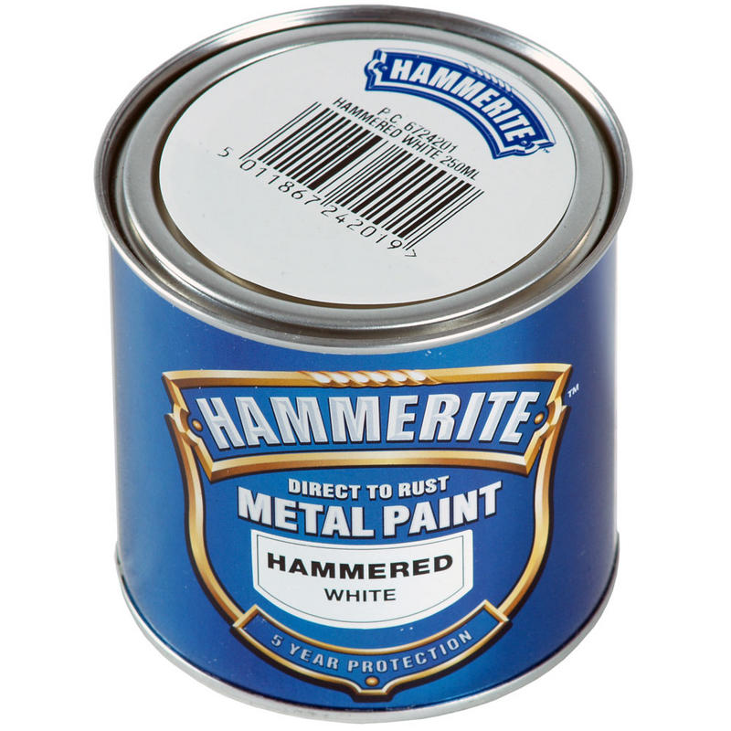 Hammerite Direct To Rust Exterior Metal Paint Hammered ...