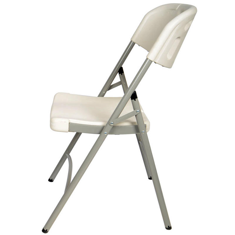 Moulded Folding Indoor Outdoor f White Plastic Banquet Chair Seat New