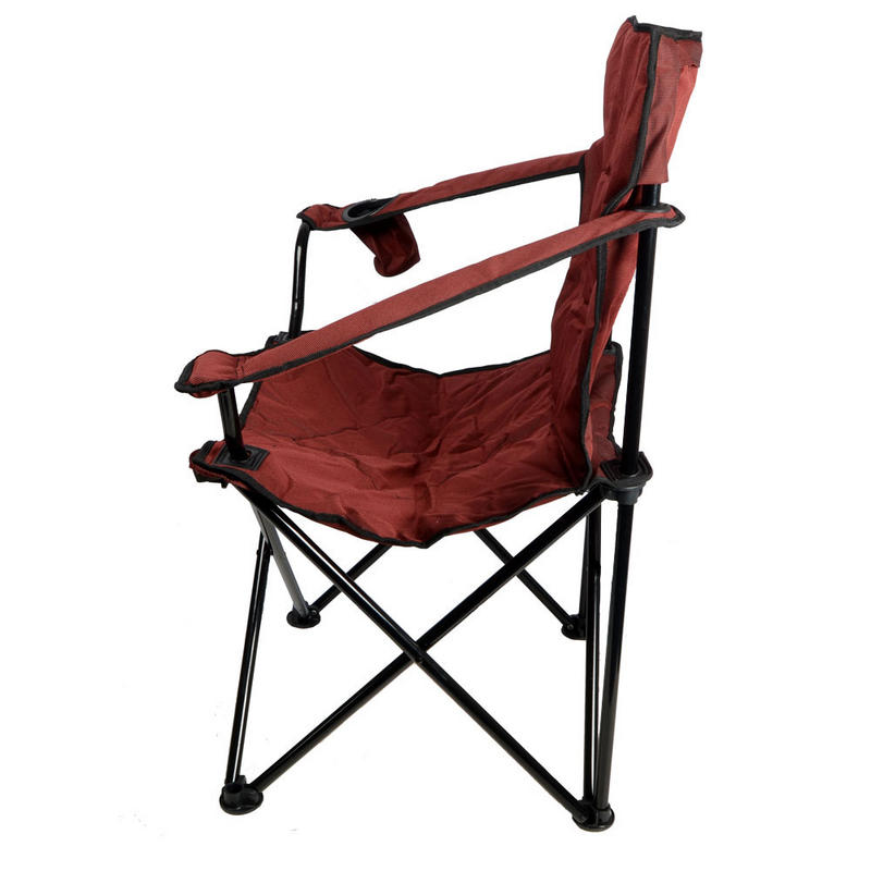 Azuma Deluxe Padded Folding Outdoor Camping Festival Fishing Arm Chair Seat New