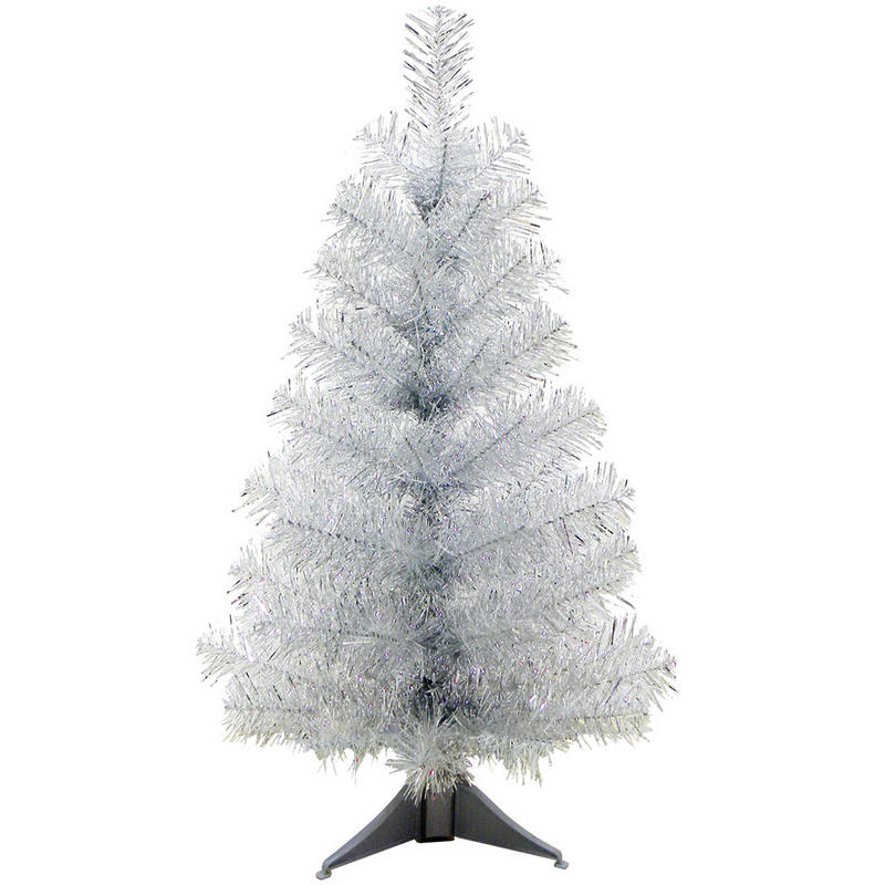 Silver Tinsel Christmas Trees Part - 38: *A Vintage 1950u0027s ...
