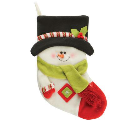 Fantastic 45cm Multi  Snowman Childrens Kids Christmas Xmas Stocking