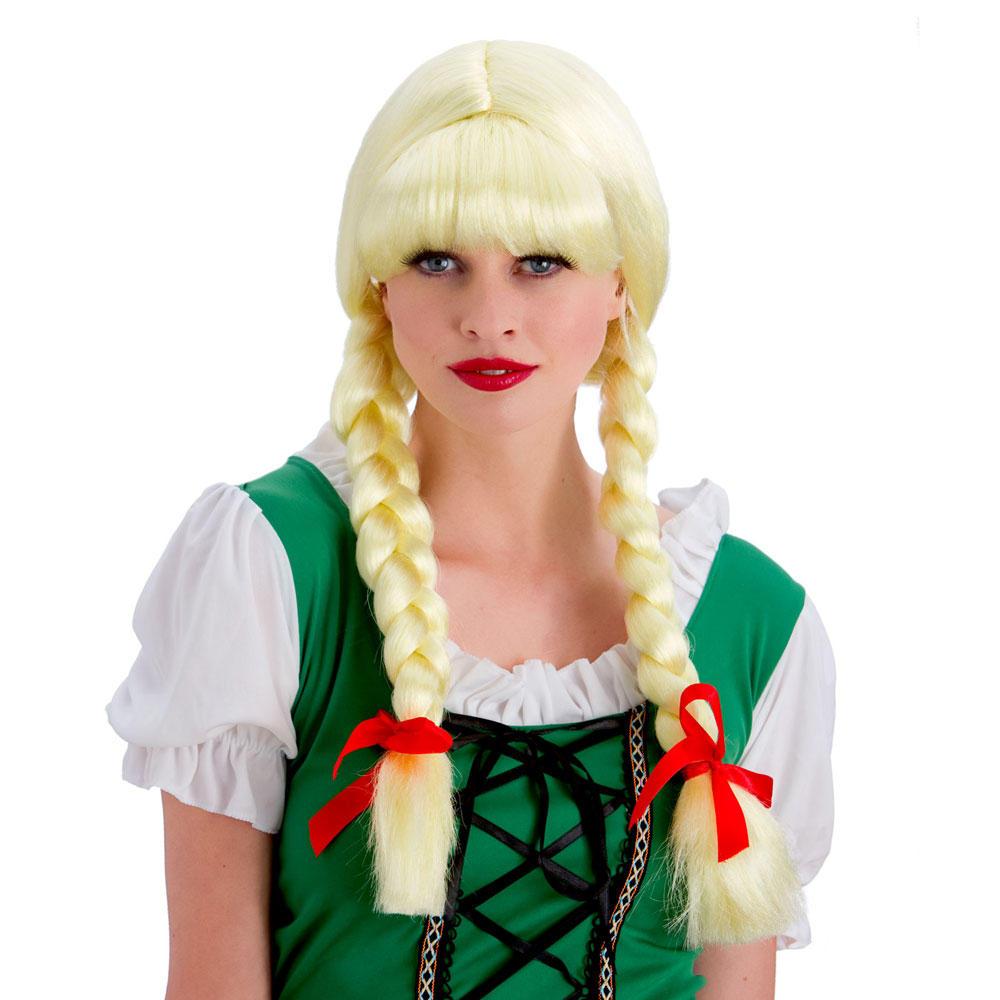 Blonde Wig Fancy Dress 100