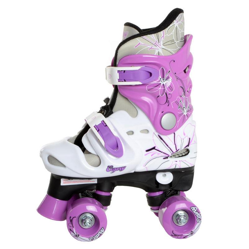 Kids Girls Boys Osprey Adjustable Quad Outdoor Roller