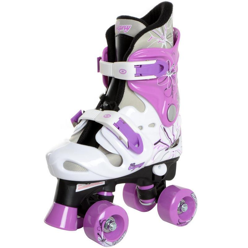 Kids Girls Boys Osprey Adjustable Quad Outdoor Roller Skates New