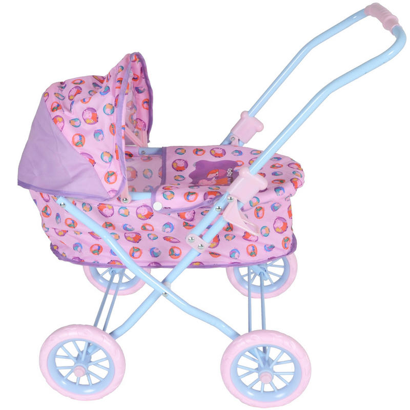 Toys For Girls Age 2 : Kids girls pink peppa pig mini toy baby dolls pram buggy