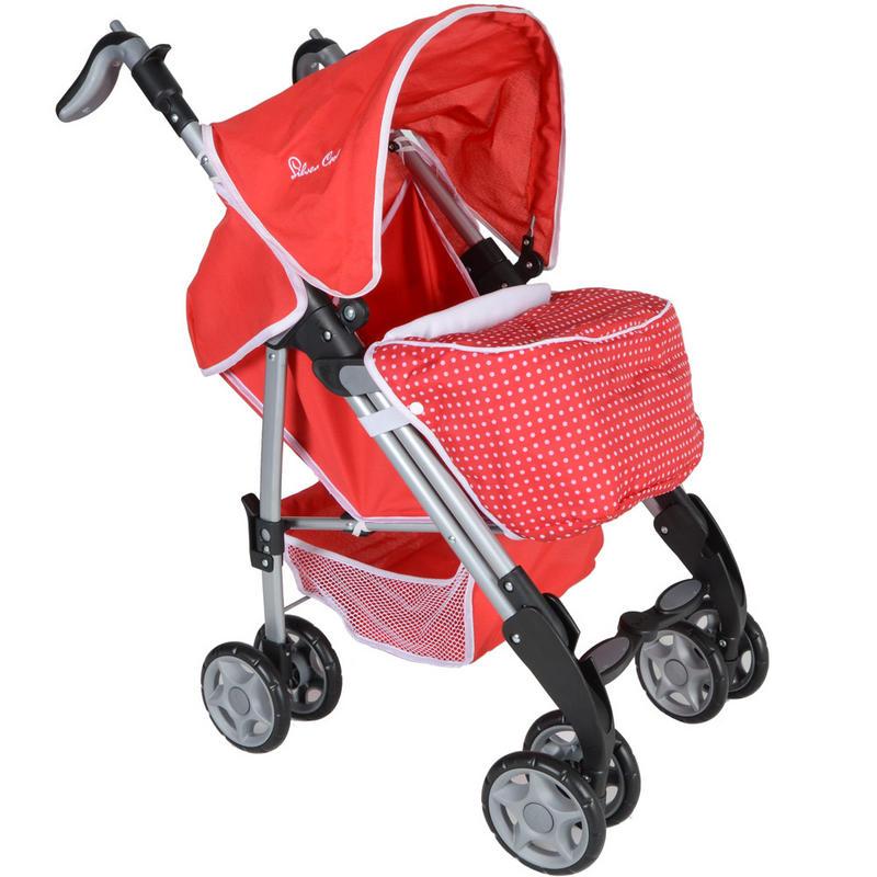 Silver Cross Push Chair Poppy Red Toy Kids Girls Baby
