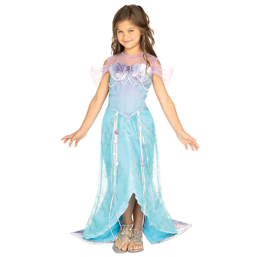 Let S Play Dress Up: Girls Rubies Let's Pretend Deluxe Mermaid Prncess Fancy