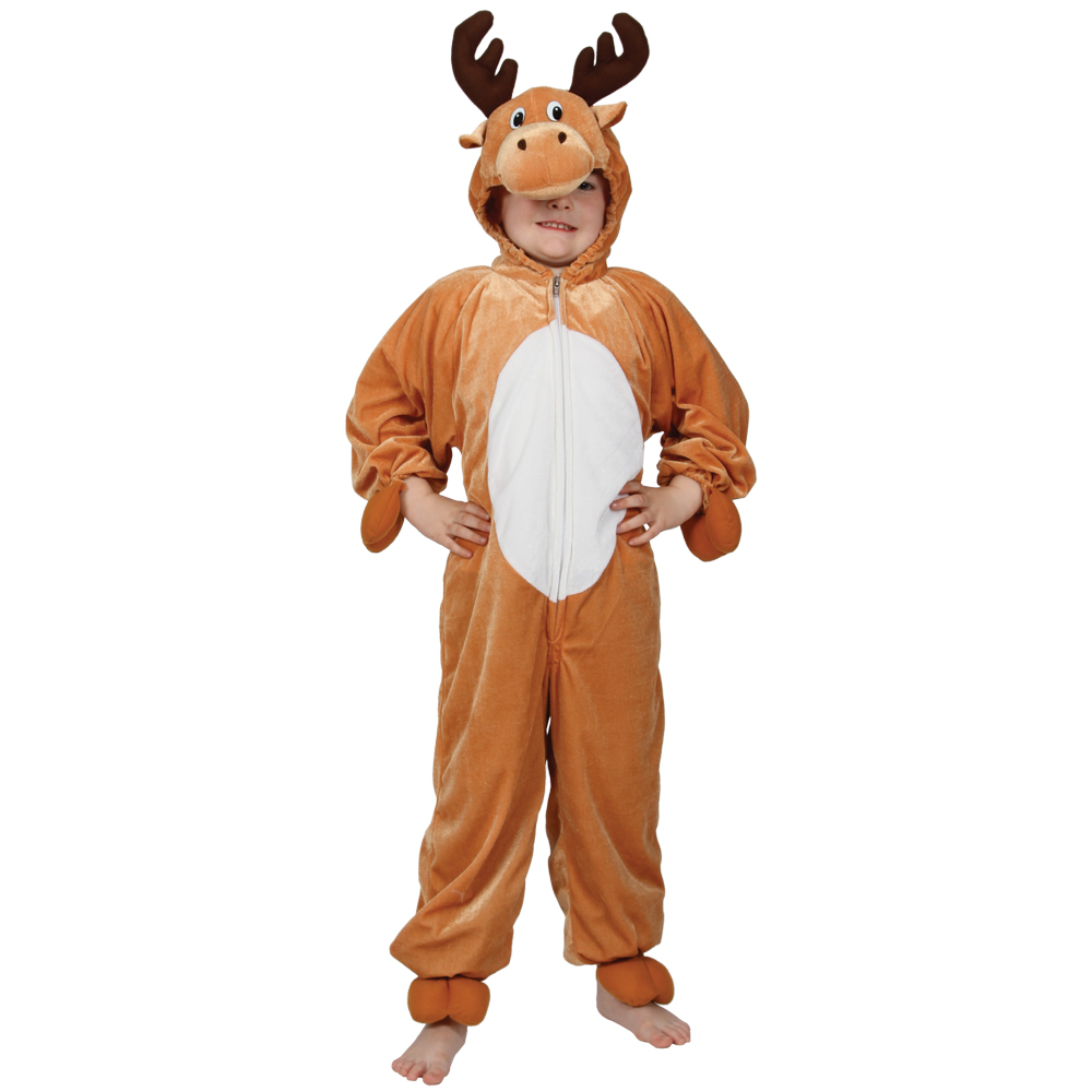 Christmas dress up - Childrens Fancy Dress Up Christmas Costume Reindeer Christmas Xs Party