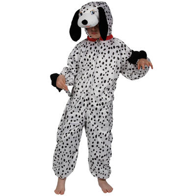 Kids Dalmation Puppy Dog Fancy Dress Halloween Costume