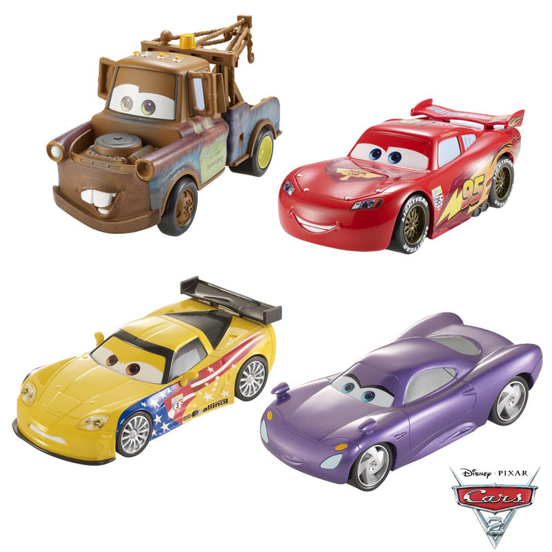 Toy Cars Movies : Cars disney pixar movie lightning mcqueen holley jeff