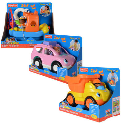 Fisher Price Little People Musical Action Vehicle With Figures
