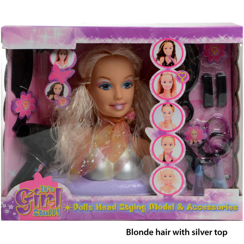 doll hair styling and makeup styling doll with makeup style guru fashion glitz 7764