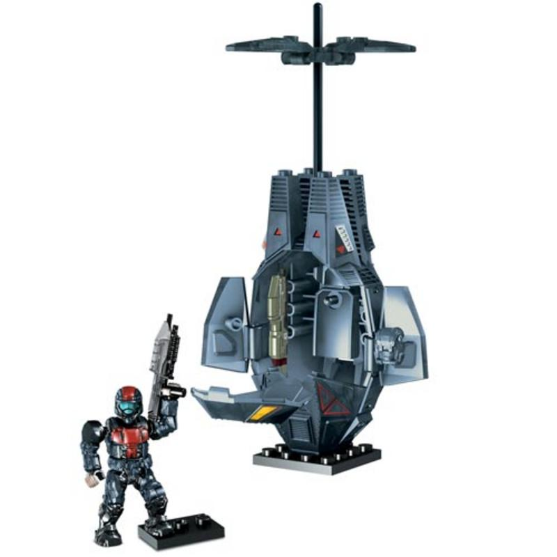 Bloks odst combat insertion drop pod suitable for ages 8 thumbnail 4