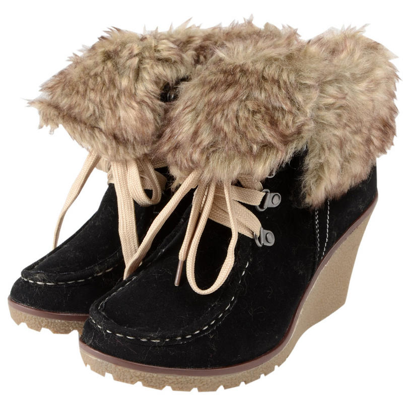 Fur boots wedge heel - results from brands Spring Step, Harley Davidson, Aerosoles, products like Women's Boutique 9 Daphnea, Pre-owned Fur-lined Boots - Brown - Marc By Marc Jacobs Boots, Spring Step Women's RAVEL Black Boot 36 M EU M, Women's Shoes.