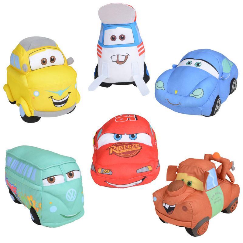 15cm 6 quot tall disney pixar cars character soft toy lightning mcqueen