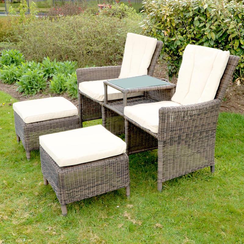 azuma bordeaux 3 pc companion set wicker rattan garden