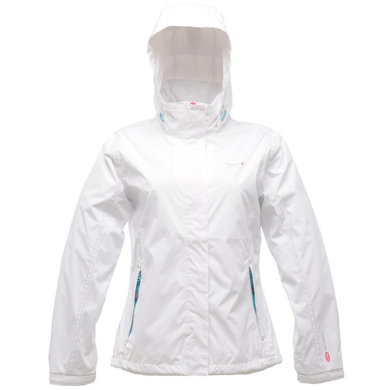 White Waterproof Jacket Ladies MQfWhW