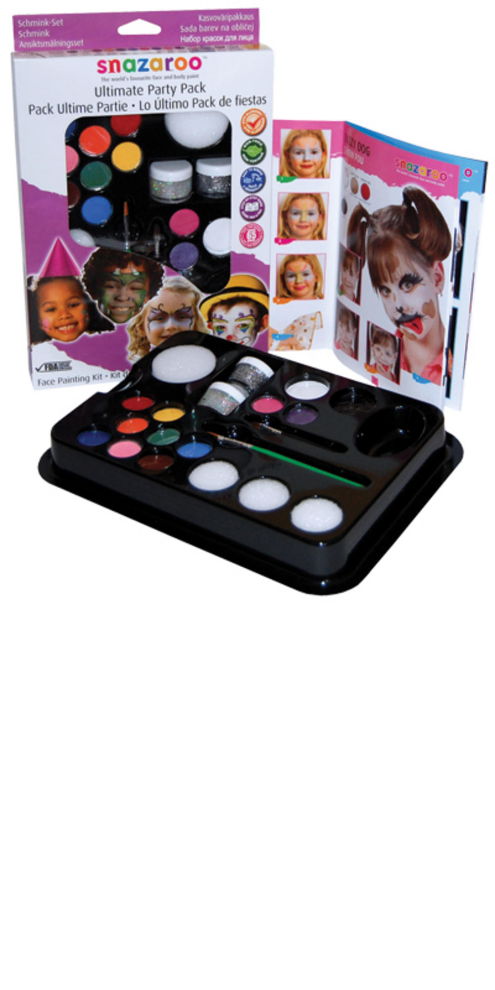 Ultimate Party Pack Fancy Dress Party Snazaroo Face Paint U0026 Makeup Kit